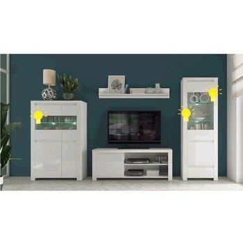 LED osvetlenie, 2-bodové, biela, ARYAN/LINDY