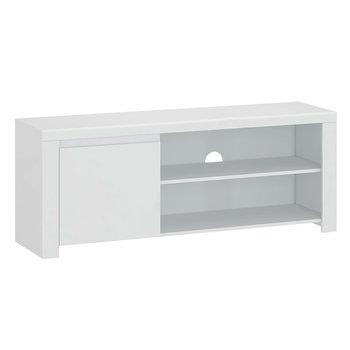 TV stolík 1D/160, biely lesk, LINDY