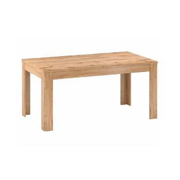 Rozkladací jedálenský stôl, 160-200cm, dub apalačský, PUSAN S