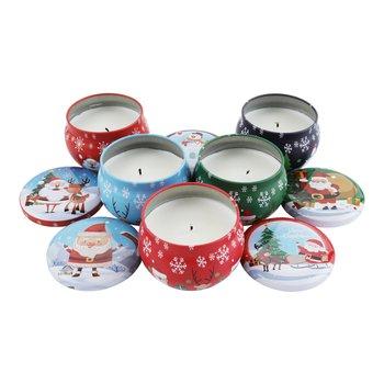 Vianočné vonné sviečky, set 5 ks, 793 g, LJUSI TYP 1