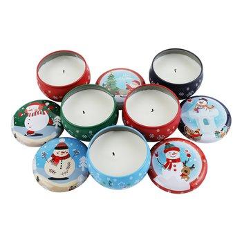 Vianočné vonné sviečky, set 5 ks, 483 g, LJUSI TYP 2