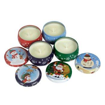 Vianočné vonné sviečky, set 4 ks, 220 g, MAGDALENKA
