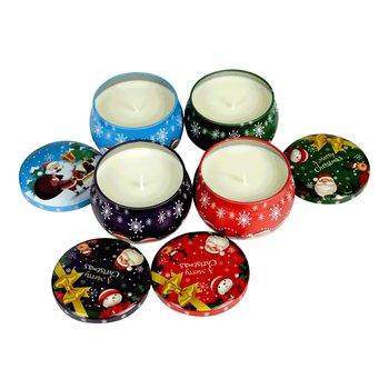 Vianočné vonné sviečky, set 4 ks, 480 g, APOLENKA