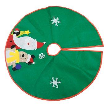 Podložka pod vianočný stromček, zelená, 1,2 m, GENEVIEVE