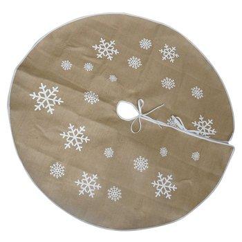 Podložka pod vianočný stromček, béžová, 1,2 m, CECILIA