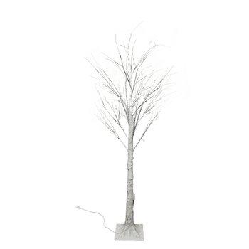 LED vianočný stromček, breza, 90 cm, WHITE BIRCH
