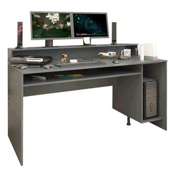 PC stôl/herný stôl, grafit, TEZRO NEW