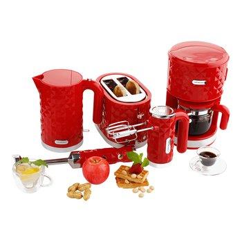 Set kuchynských spotrebičov, 5 ks, červená, DIAMOND