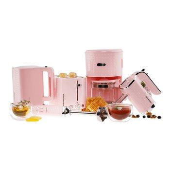 Set kuchynských spotrebičov, 5 ks, ružová, DOTS