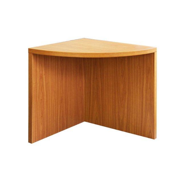 Rohový oblúkový stôl, čerešňa americká, OSCAR, poškodený tovar